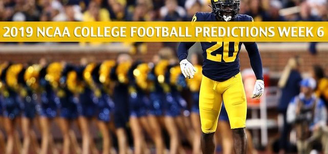 Iowa Hawkeyes vs Michigan Wolverines Predictions, Picks, Odds, and NCAA Football Betting Preview – October 5 2019