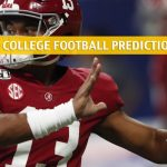 New Mexico State Aggies vs Alabama Crimson Tide Predictions, Picks, Odds, and NCAA Football Betting Preview - September 7 2019