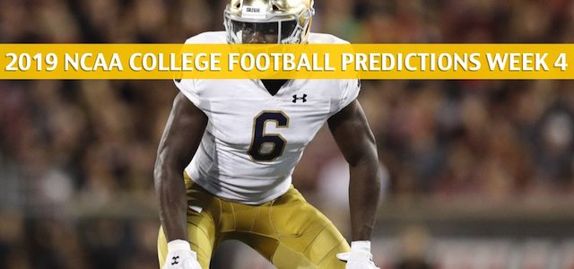 Notre Dame Fighting Irish vs Georgia Bulldogs Predictions, Picks, Odds, and NCAA Football Betting Preview – September 21 2019
