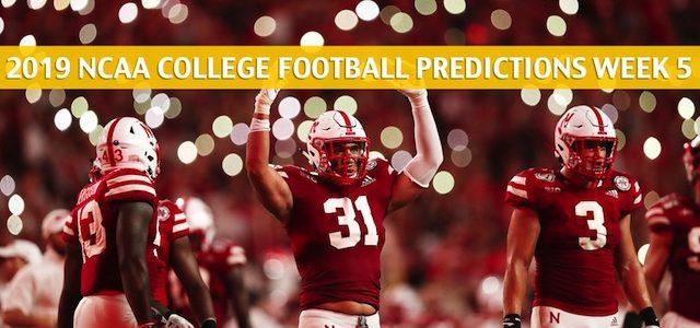Ohio State Buckeyes vs Nebraska Cornhuskers Predictions, Picks, Odds, and NCAA Football Betting Preview – September 28 2019