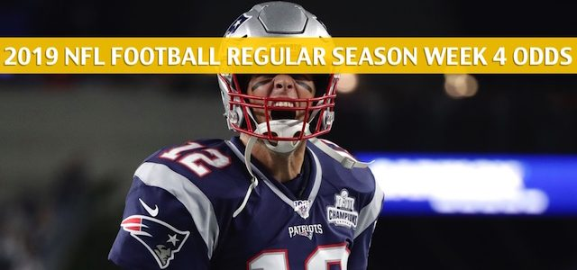New England Patriots vs Buffalo Bills Predictions, Picks, Odds, and Betting Preview – NFL Week 4 – September 29 2019
