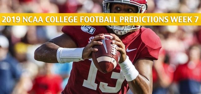 Alabama Crimson Tide vs Texas A&M Aggies Predictions, Picks, Odds, and NCAA Football Betting Preview – October 12 2019
