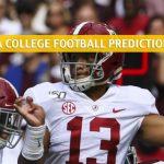 Arkansas Razorbacks vs Alabama Crimson Tide Predictions, Picks, Odds, and NCAA Football Betting Preview - October 26 2019
