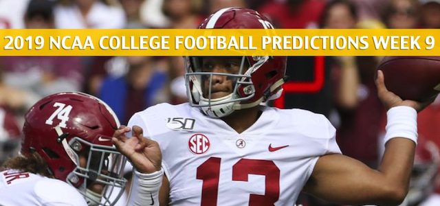 Arkansas Razorbacks vs Alabama Crimson Tide Predictions, Picks, Odds, and NCAA Football Betting Preview – October 26 2019