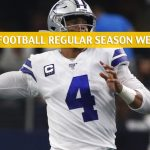 Philadelphia Eagles vs Dallas Cowboys Predictions, Picks, Odds, and Betting Preview - NFL Week 7 - October 20 2019