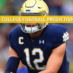 Virginia Tech Hokies vs Notre Dame Fighting Irish Predictions, Picks, Odds, and NCAA Football Betting Preview - November 2 2019