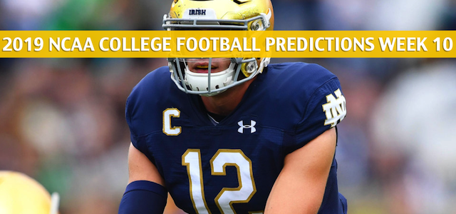 Virginia Tech Hokies vs Notre Dame Fighting Irish Predictions, Picks, Odds, and NCAA Football Betting Preview – November 2 2019