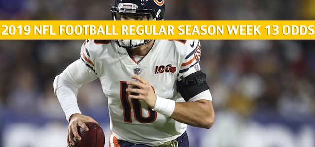 Chicago Bears vs Detroit Lions Predictions, Picks, Odds, and Betting Preview – NFL Week 13 – November 28 2019