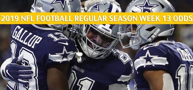 Buffalo Bills vs Dallas Cowboys Predictions, Picks, Odds, and Betting Preview – NFL Week 13 – November 28 2019