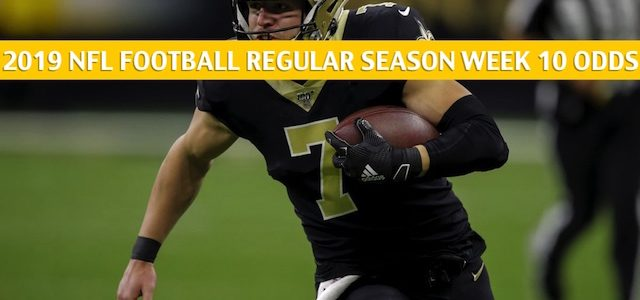 Atlanta Falcons vs New Orleans Saints Predictions, Picks, Odds, and Betting Preview – NFL Week 10 – November 10 2019