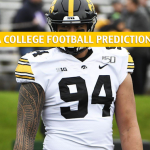 Iowa Hawkeyes vs Wisconsin Badgers Predictions, Picks, Odds, and NCAA Football Betting Preview - November 9 2019
