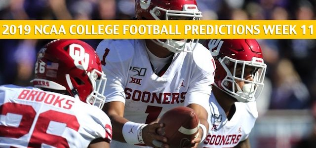 Iowa State Cyclones vs Oklahoma Sooners Predictions, Picks, Odds, and NCAA Football Betting Preview – November 9 2019