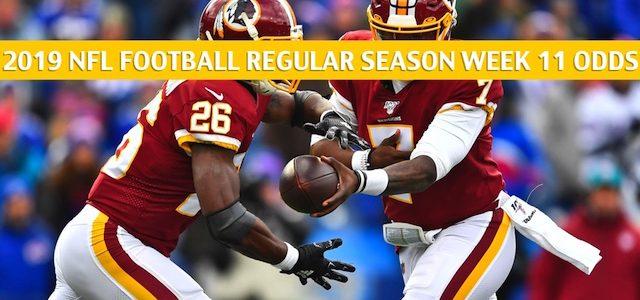 New York Jets vs Washington Redskins Predictions, Picks, Odds, and Betting Preview – NFL Week 11 – November 17 2019