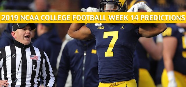 Ohio State Buckeyes vs Michigan Wolverines Predictions, Picks, Odds, and NCAA Football Betting Preview – November 30 2019