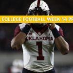 Oklahoma Soonersvs Oklahoma State Cowboys Predictions, Picks, Odds, and NCAA Football Betting Preview -November 302019