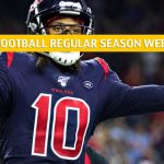 New England Patriots vs Houston Texans Predictions, Picks, Odds, and Betting Preview - NFL Week 13 - December 1 2019