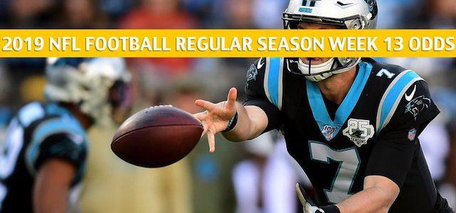 Washington Redskins vs Carolina Panthers Predictions, Picks, Odds, and Betting Preview – NFL Week 13 – December 1 2019