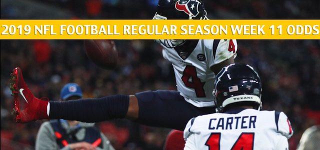 Houston Texans vs Baltimore Ravens Predictions, Picks, Odds, and Betting Preview – NFL Week 11 – November 17 2019