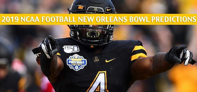 Appalachian State Mountaineers vs UAB Blazers Predictions, Picks, Odds, and NCAA Football Betting Preview – New Orleans Bowl – December 21 2019