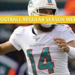 Cincinnati Bengals vs Miami Dolphins Predictions, Picks, Odds, and Betting Preview - NFL Week 16 - December 22 2019