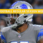 Tampa Bay Buccaneers vs Detroit Lions Predictions, Picks, Odds, and Betting Preview - NFL Week 15 - December 15 2019