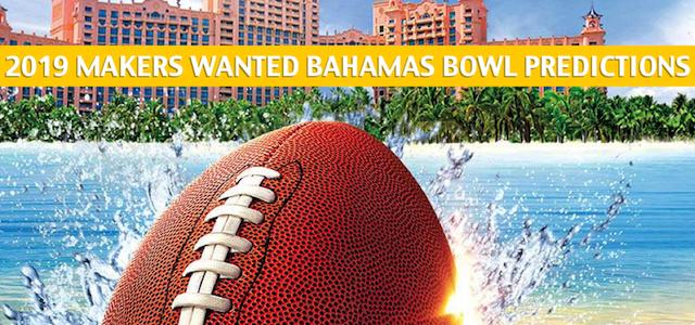 Buffalo Bulls vs Charlotte 49ers Predictions, Picks, Odds, and NCAA Football Betting Preview – Makers Wanted Bahamas Bowl – December 20 2019