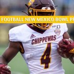 Central Michigan Chippewas vs San Diego State Aztecs Predictions, Picks, Odds, and NCAA Football Betting Preview - New Mexico Bowl - December 21 2019