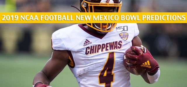Central Michigan Chippewas vs San Diego State Aztecs Predictions, Picks, Odds, and NCAA Football Betting Preview – New Mexico Bowl – December 21 2019