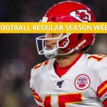 Kansas City Chiefs vs Chicago Bears Predictions, Picks, Odds, and Betting Preview - NFL Week 16 - December 22 2019