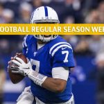 Indianapolis Colts vs Jacksonville Jaguars Predictions, Picks, Odds, and Betting Preview - NFL Week 17 - December 29 2019