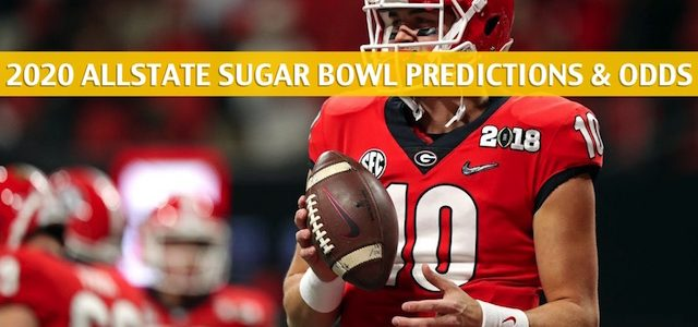 Georgia Bulldogs vs Baylor Bears Predictions, Picks, Odds, and NCAA Football Betting Preview – AllState Sugar Bowl – January 1 2019