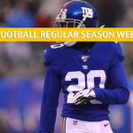 New York Giants vs Washington Redskins Predictions, Picks, Odds, and Betting Preview - NFL Week 16 - December 22 2019