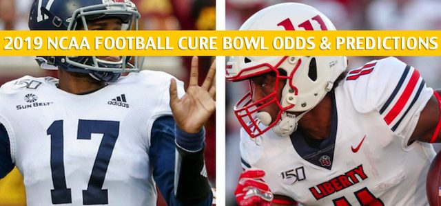 Liberty Flames vs Georgia Southern Eagles Predictions, Picks, Odds, and NCAA Football Betting Preview – Cure Bowl – December 21 2019