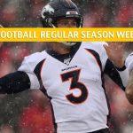 Detroit Lions vs Denver Broncos Predictions, Picks, Odds, and Betting Preview - NFL Week 16 - December 22 2019