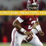 Michigan Wolverines vs Alabama Crimson Tide Predictions, Picks, Odds, and NCAA Football Betting Preview - VRBO Citrus Bowl - January 1 2020