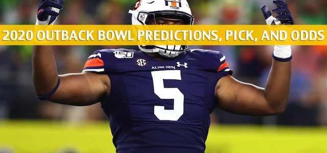 Minnesota Golden Gophers vs Auburn Tigers Predictions, Picks, Odds, and NCAA Football Betting Preview – Outback Bowl – January 1 2020