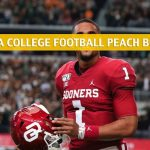 Oklahoma Sooners vs LSU Tigers Predictions, Picks, Odds, and NCAA Football Betting Preview - Chick Fil-A Peach Bowl CFB Semi Final - December 28 2019
