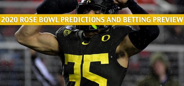 Oregon Ducks vs Wisconsin Badgers Predictions, Picks, Odds, and NCAA Football Betting Preview – Rose Bowl – January 1 2020