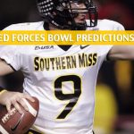 Southern Mississippi Golden Eagles vs Tulane Green Waves Predictions, Picks, Odds, and NCAA Football Betting Preview - Armed Forces Bowl - January 4 2020