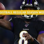 Pittsburgh Steelers vs Baltimore Ravens Predictions, Picks, Odds, and Betting Preview - NFL Week 17 - December 29 2019