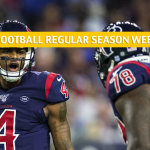 Houston Texans vs Tennessee Titans Predictions, Picks, Odds, and Betting Preview - NFL Week 15 - December 15 2019