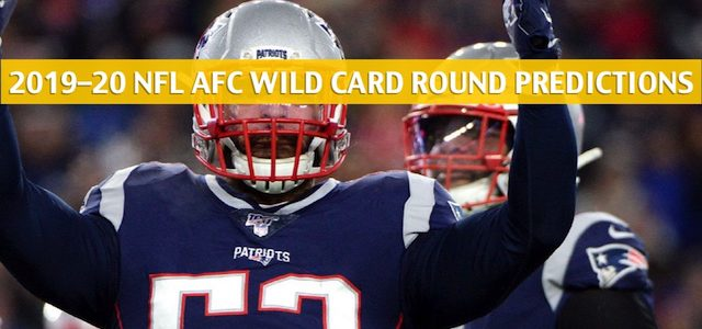 Tennessee Titans vs New England Patriots Predictions, Picks, Odds, and Betting Preview – NFL AFC Wild Card Round – January 4 2020