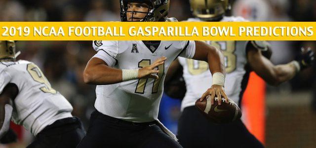 UCF Knights vs Marshall Thundering Herd Predictions, Picks, Odds, and NCAA Football Betting Preview – Gasparilla Bowl – December 23 2019