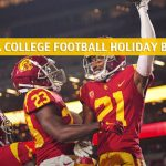 USC Trojans vs Iowa Hawkeyes Predictions, Picks, Odds, and NCAA Football Betting Preview - Holiday Bowl - December 27 2019
