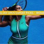 2020 Australian Open Expert Picks and Predictions - Women's Singles