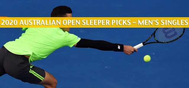 2020 Australian Open Sleepers / Sleeper Picks and Predictions – Men's Singles
