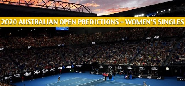 2020 Australian Open Predictions, Picks, Odds, and Betting Preview – Women's Singles