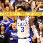 Duke Blue Devils vs Syracuse Orange Predictions, Picks, Odds, and NCAA Basketball Betting Preview - February 1 2020