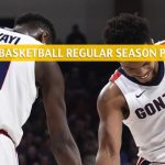 Pacific Tigers vs Gonzaga Bulldogs Predictions, Picks, Odds, and NCAA Basketball Betting Preview - January 25 2020