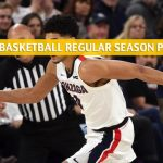 Pepperdine Waves vs Gonzaga Bulldogs Predictions, Picks, Odds, and NCAA Basketball Betting Preview - January 4 2020
